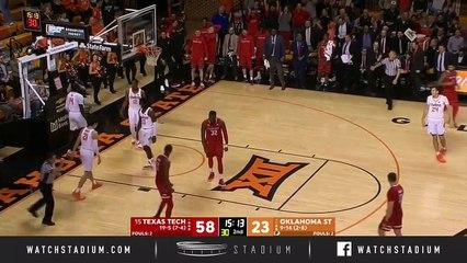 No. 15 Texas Tech vs. Oklahoma State Basketball Highlights (2018-19)