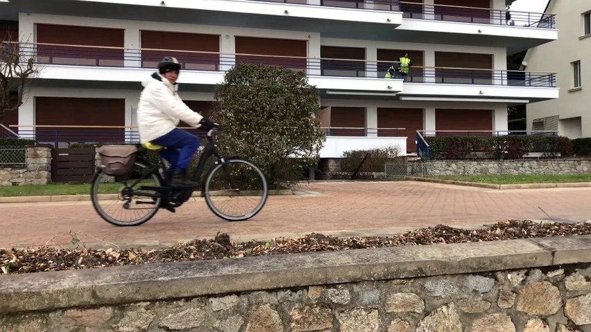 LA BAULE   |   Esplanade Benoit en Hiver - Télé La Baule