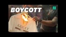 50 Cent, en colère contre Gucci, brûle un tee-shirt à 350€