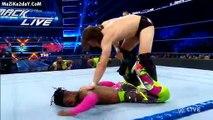 daniel bryan & kofi kingston & jeff hardy & samoa joe & aj styles and randy orton elimination match wwe smackdown live february 12 2019