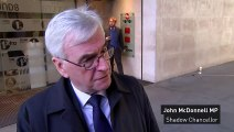 John McDonnell: 'Trump's comments are always controversial'