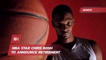 Chris Bosh Is Retiring From The NBA