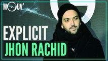 Jhon Rachid réagit aux punchlines de S.pri Noir, Damso, Aya Nakamura...