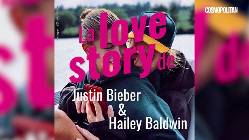 La love story de Justin Bieber et Hailey Baldwin