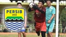 Kiper Diklat Persib, Ungkapkan Perasaan Ini setelah Berlatih Bersama Tim Senior Maung Bandung
