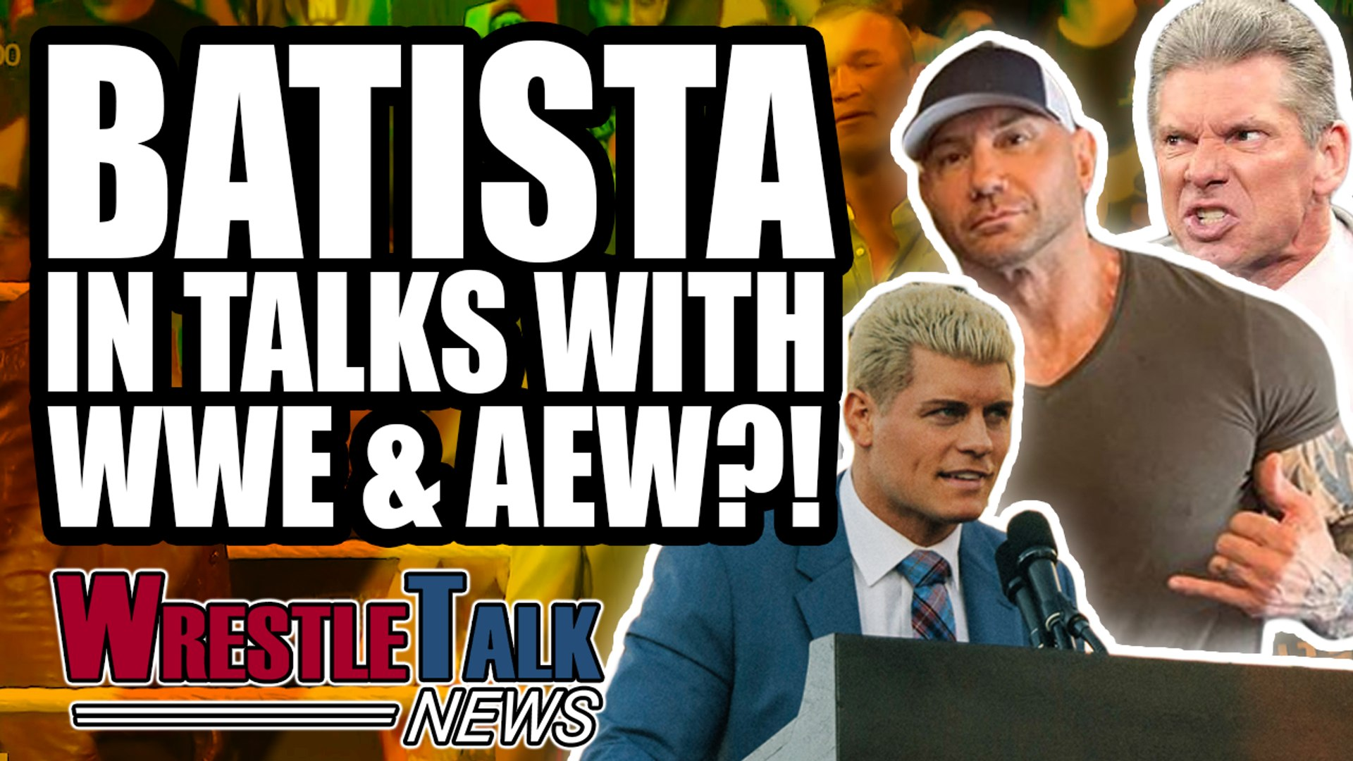 Batista In Talks With WWE & AEW?! AEW SELL OUT In 4 Minutes! | WrestleTalk News Feb. 2019