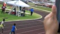 Usain Bolt'a 7 yaşında rakip! 'Büyük Alev'