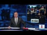 CNTE libera las vías del ferrocarril en Uruapan, Michoacán | Noticias con Ciro Gómez Leyva