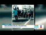 Balacera en Iztapalapa deja tres personas muertas y tres heridas   Noticias con Francisco Zea