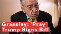 Chuck Grassley: 'Let's All Pray' Trump Signs Border Funding Bill To Avoid Shutdown