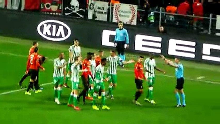 14/02/19 : SRFC-BETIS : contre son camp Javi Garcia (2')