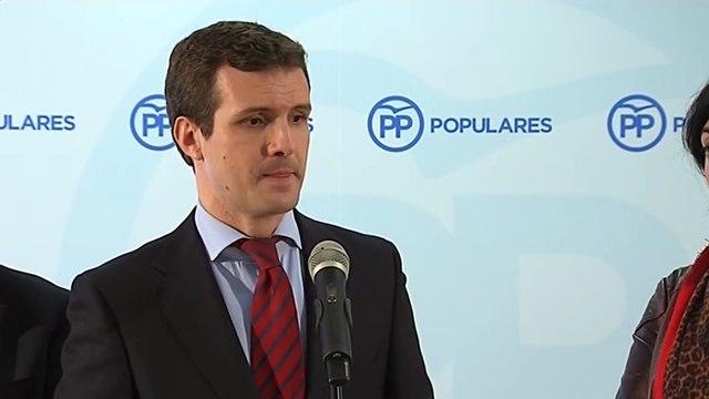 """Casado: """"Pedro Sánchez quería ser expresidente del Gobierno"""""""