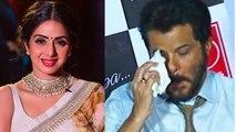 Sridevi Prayer Meet: Anil Kapoor gets Emotional for Sridevi  FilmiBeat