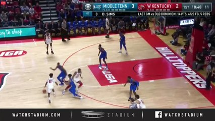 Middle Tennessee vs. Western Kentucky Basketball Highlights (2018-19)