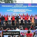 Duterte officially endorses 11 chosen candidates for May 2019