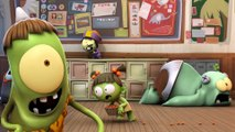 Spookiz | Soirée Danse Squelette | cartn pour les enfants | Dessin animé drôle |   prt 2/2