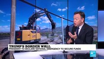 Trump's border wall: why has Trump agreed to sign the border security bill?