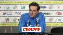 Pelissier «Un match bonus» - Foot - L1 - Amiens