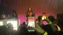 Le concert d'Aya Nakamura au premier étage de la tour Eiffel