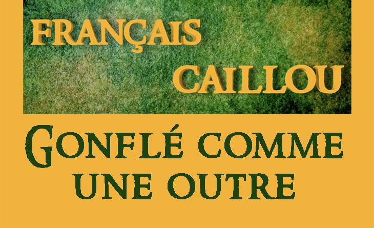 Français caillou / Définition du jour : Gonflé comme une outre