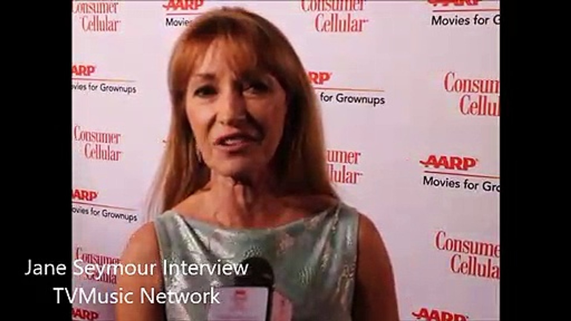 Jane Seymour Interview - 2019 Movies For Grownups Awards Red Carpet