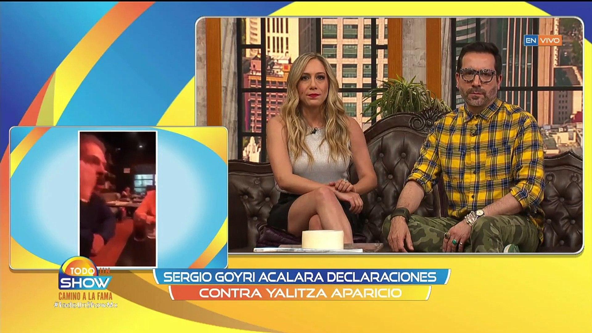 Todo Un Show |¡Sergio Goyri ACLARA EN VIVO sus comentarios contra Yalitza Aparicio!