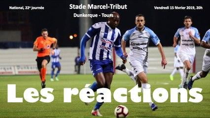 Réactions USLD - Tours FC