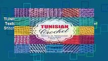 TUNISIAN Crochet - Vol. 1: Basic   Textured Stitches: Volume 1 (TUNISIAN Crochet Stitches)