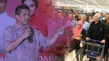 The trolley was once filled with handbags and cash, Azmin reminds 'Bossku'