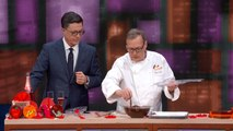 Jacques Torres Creates A Chocolate Violin