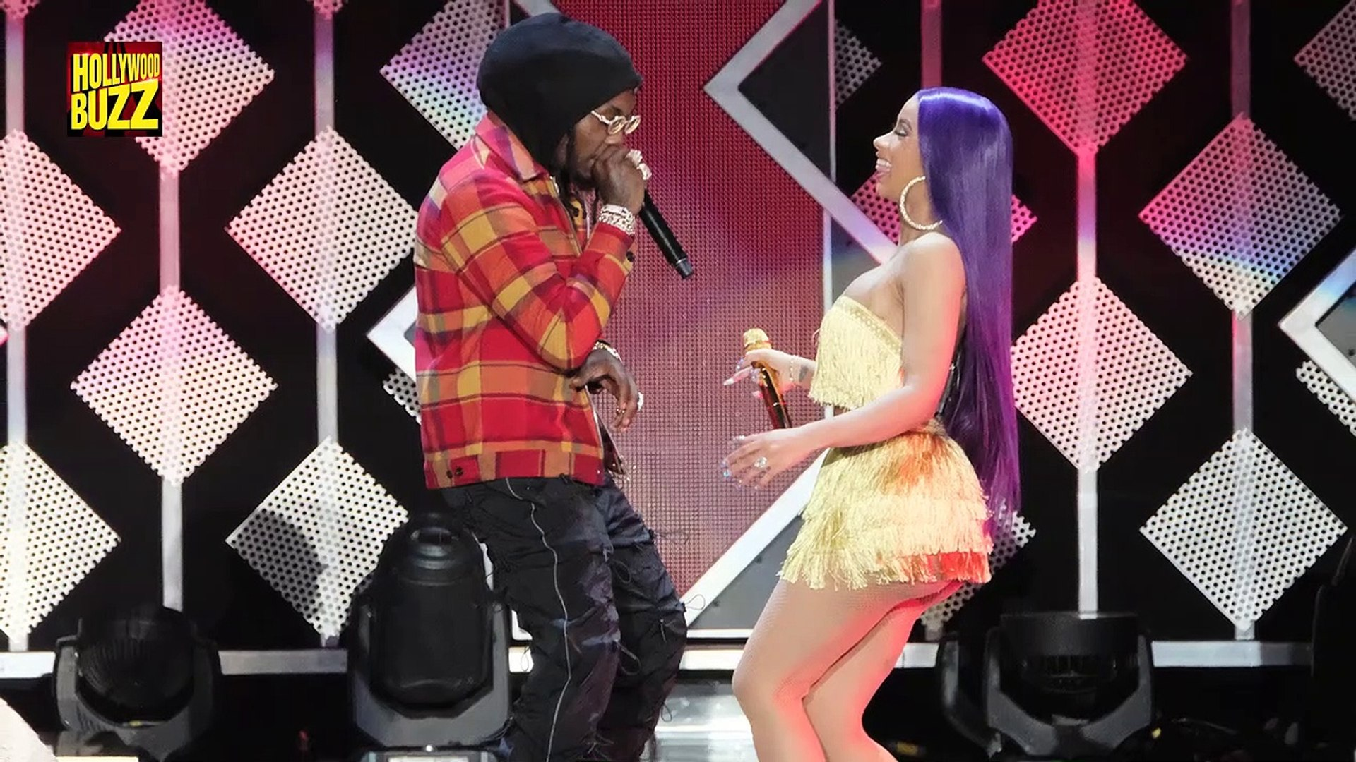 Cardi B Finally Wears Her Engagement Ring Back & Grinds On Offset