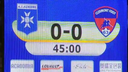 J25: Auxerre - Clermont (1-0)