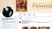 Sonam Kapoor changes name to 'Zoya Singh Solanki' on social media