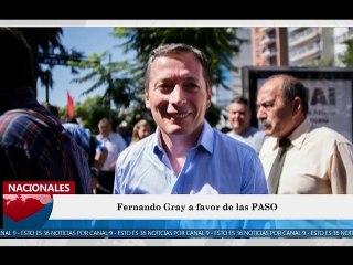 36 Noticias Canal 9 Programa 001 Lunes 11-02-2019