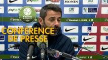 Conférence de presse Châteauroux - US Orléans (1-2) : Nicolas USAI (LBC) - Didier OLLE-NICOLLE (USO) - 2018/2019