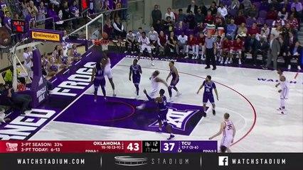Oklahoma vs. TCU Basketball Highlights (2018-19)