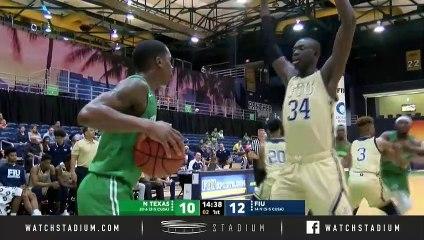North Texas vs. FIU Basketball Highlights (2018-19)