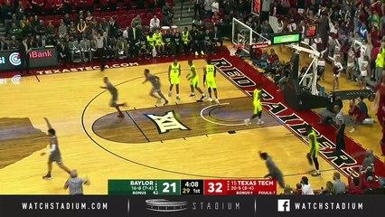 Baylor vs. No. 15 Texas Tech Basketball Highlights (2018-19)