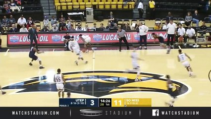 UTEP vs. Southern Miss Basketball Highlights (2018-19)