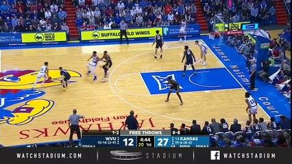 West Virginia vs. No. 14 Kansas Basketball Highlights (2018-19)