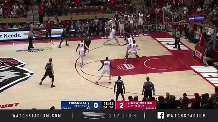 Fresno State vs. New Mexico Basketball Highlights (2018-19)