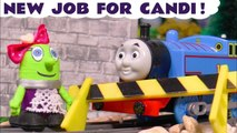 New Candi Funling with Thomas and Friends and the Funny Funlings with many accidents but gets new job in a Candy Shop in this Family Friendly Full Episode English Story for Kids