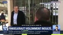 Alain Finkielkraut insulté: ce qu'il s'est passé ce samedi à Paris