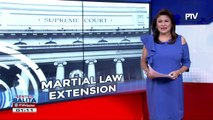 Desisyon ng SC ukol sa martial law extension, ikinatuwa ng AFP