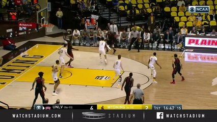UNLV vs. Wyoming Basketball Highlights (2018-19)
