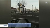 Russie : une étrange neige noire inquiète les internautes