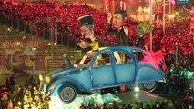 Le carnaval de Nice balade les politiques ce samedi 16 février.