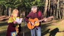 """Le duo Sabine et Denis, de la Compagnie """"C'est pour rire"""" ont écrit leur version de """"Libérée délivrée"""" sur le thème de la guerre"""
