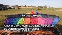 Vol en montgolfière au-dessus de l'Entre-Sambre et Meuse (Ballon Evasion)
