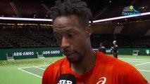 """ATP - Rotterdam 2019 - Gaël Monfils : """"C'est mon 2e ATP 500, je suis content"""""""